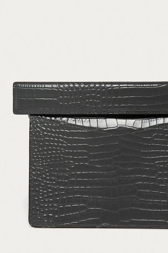 světle šedá Karl Lagerfeld - Kožená kabelka