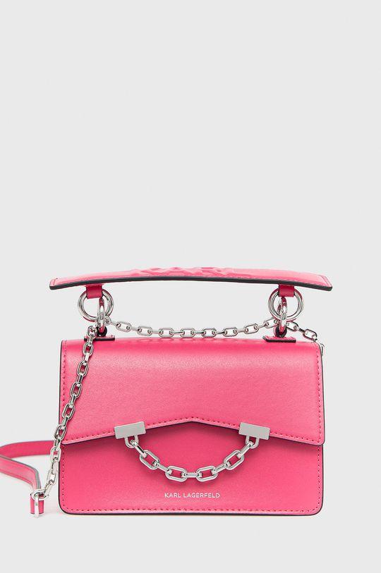 ostrá růžová Karl Lagerfeld - Kabelka 206W3054 Dámský