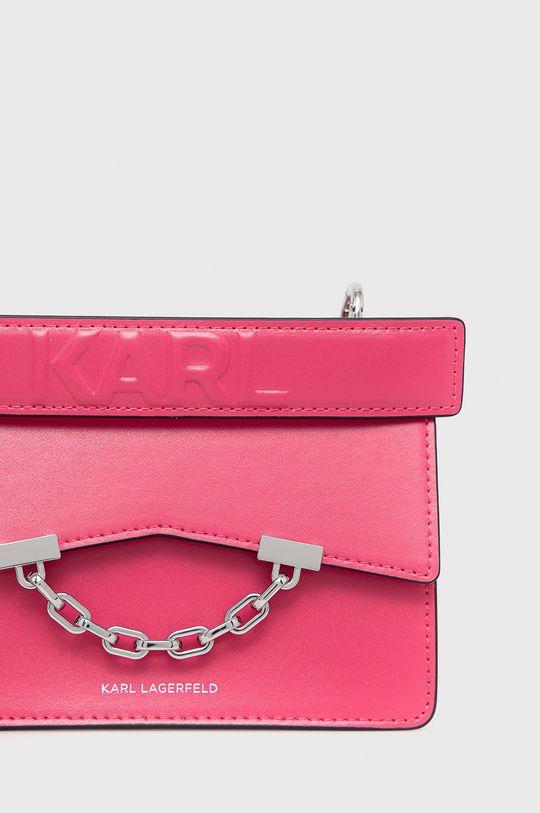 Karl Lagerfeld - Kabelka 206W3054 ostrá růžová