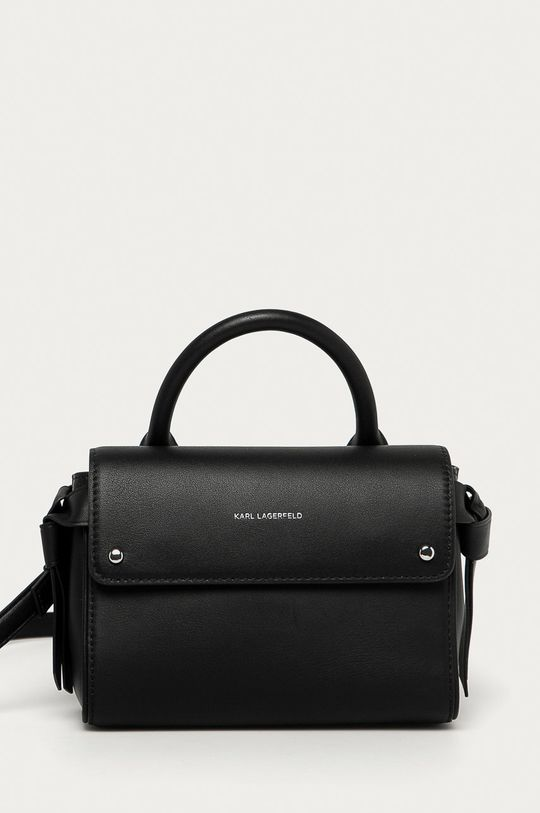 чёрный Karl Lagerfeld - Кожаная сумочка Женский