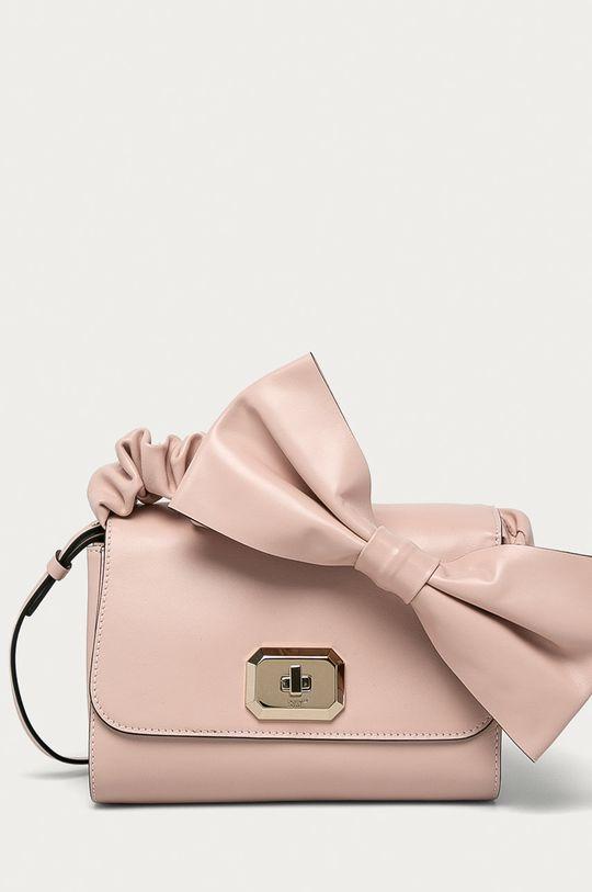 růžová Red Valentino - Kožená kabelka Dámský