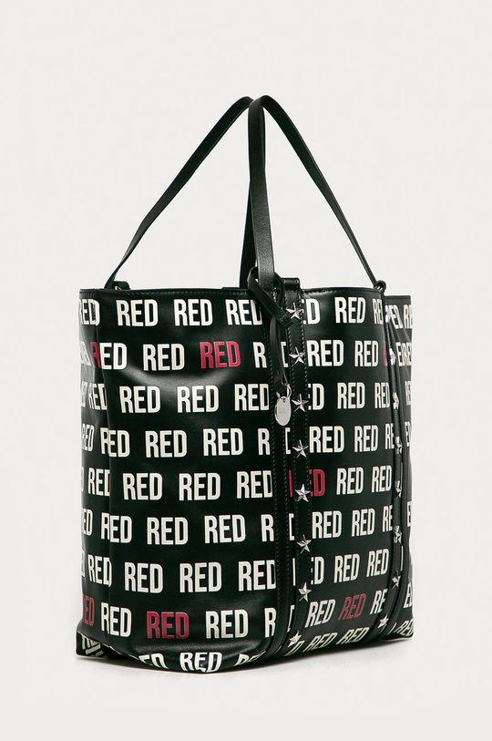 Red Valentino - Poseta de piele negru