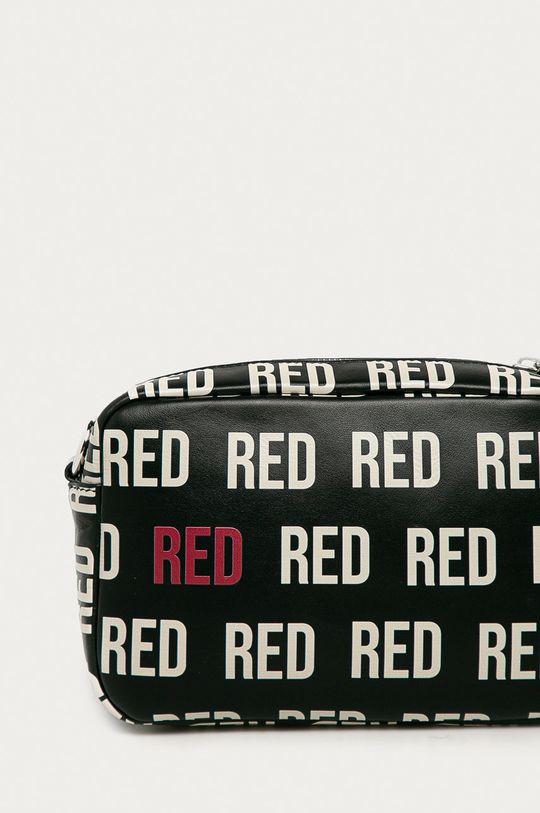 czarny Red Valentino - Torebka skórzana