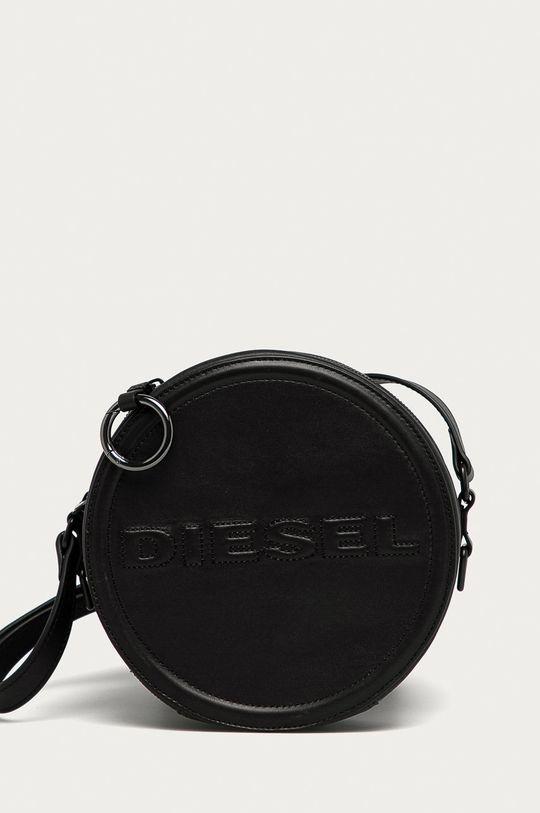 čierna Diesel - Kožená kabelka Dámsky