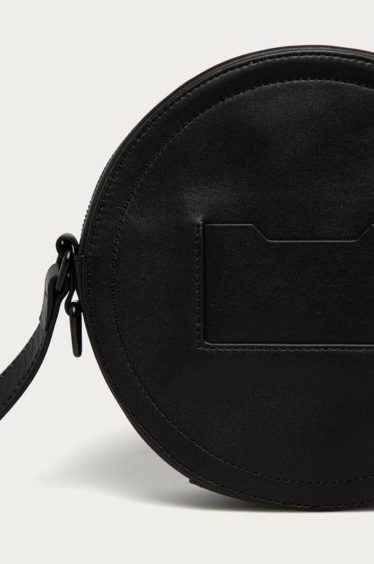 čierna Diesel - Kožená kabelka