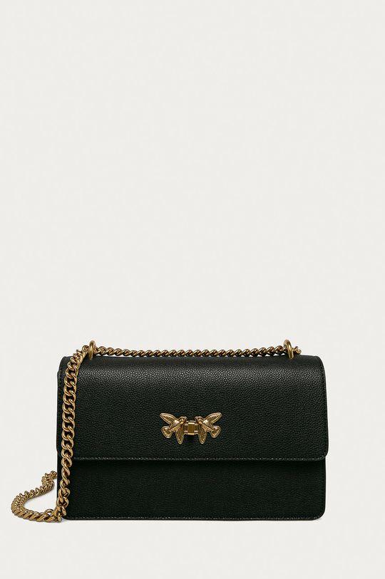 čierna Pinko - Semišová kabelka Dámsky