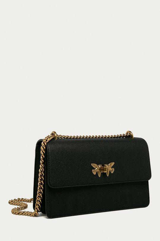Pinko - Semišová kabelka čierna
