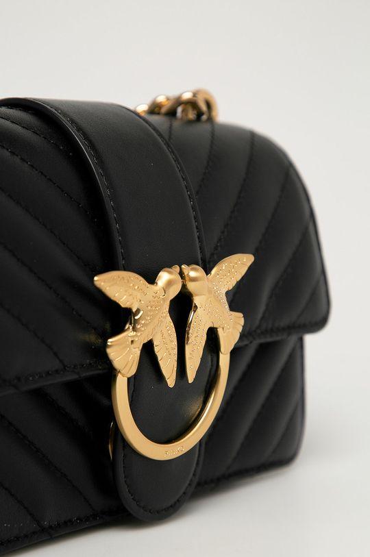 Pinko - Bőr táska fekete