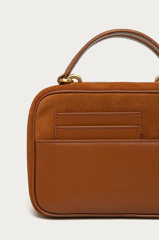 hnedá Pinko - Kožená kabelka