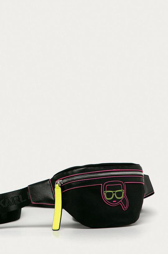Karl Lagerfeld - Ľadvinka  52% Polyamid, 48% Prírodná koža