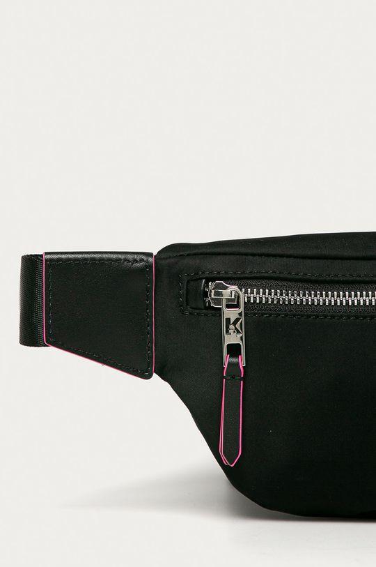 čierna Karl Lagerfeld - Ľadvinka