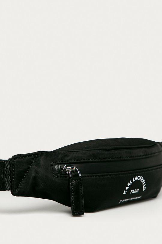 Karl Lagerfeld - Ľadvinka  86% Polyamid, 14% Prírodná koža
