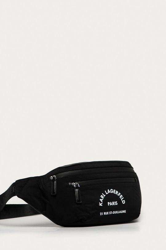 Karl Lagerfeld - Borseta  48% Poliamida, 52% Piele naturala