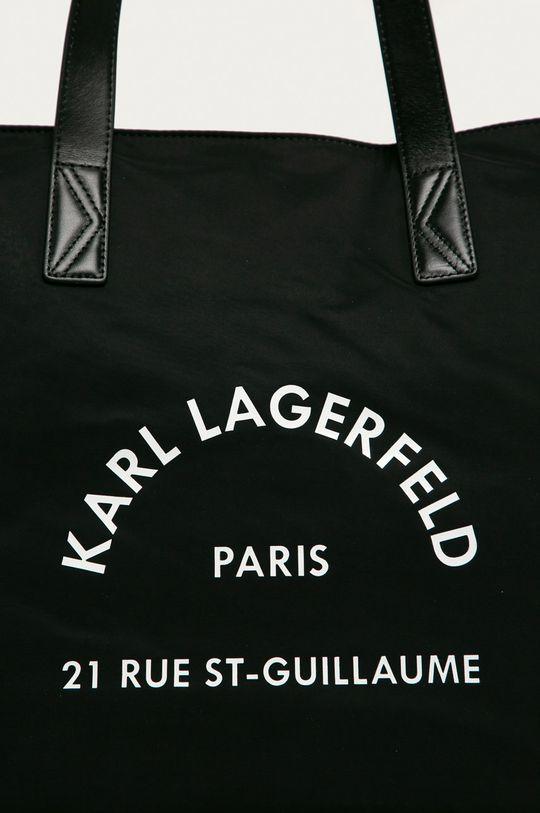 Karl Lagerfeld - Poseta negru