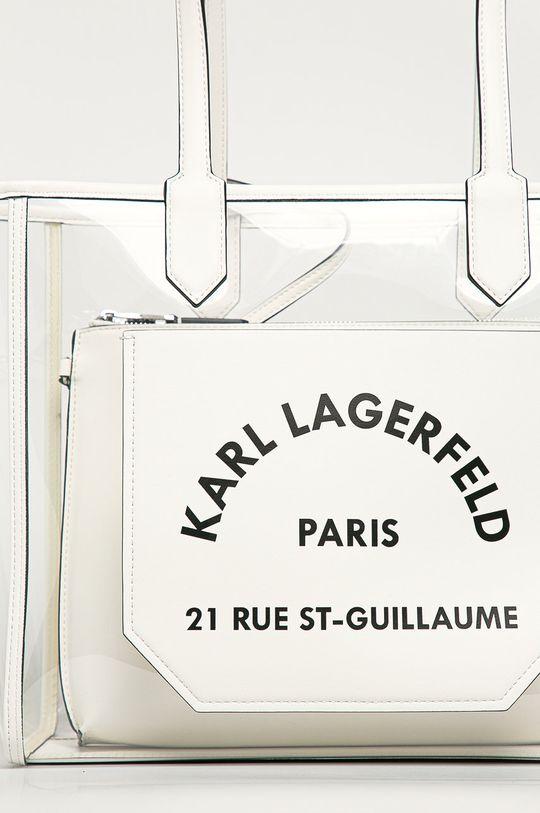 Karl Lagerfeld - Kabelka biela
