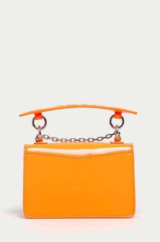 oranžová Karl Lagerfeld - Kožená kabelka