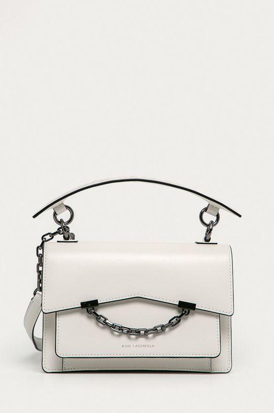 alb Karl Lagerfeld - Poseta de piele De femei