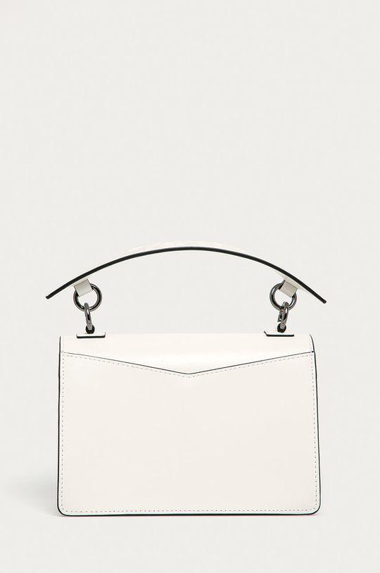 alb Karl Lagerfeld - Poseta de piele