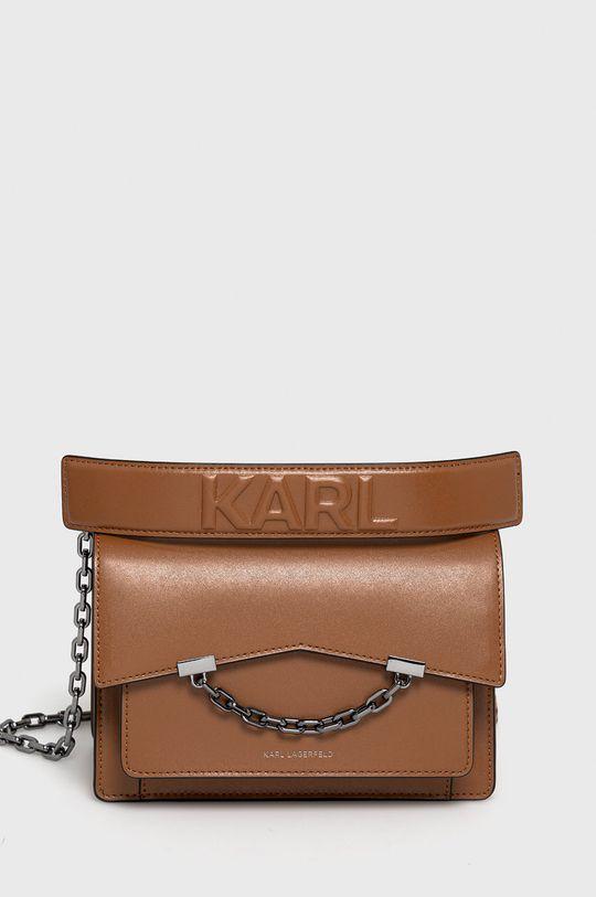 maro auriu Karl Lagerfeld - Poseta de piele De femei
