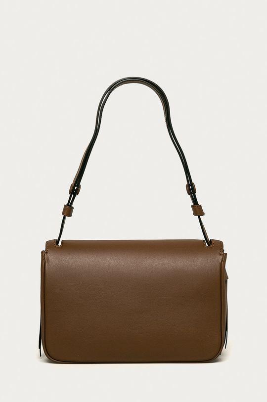 hnedá Karl Lagerfeld - Kožená kabelka