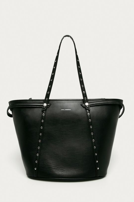 negru Karl Lagerfeld - Poseta de piele De femei
