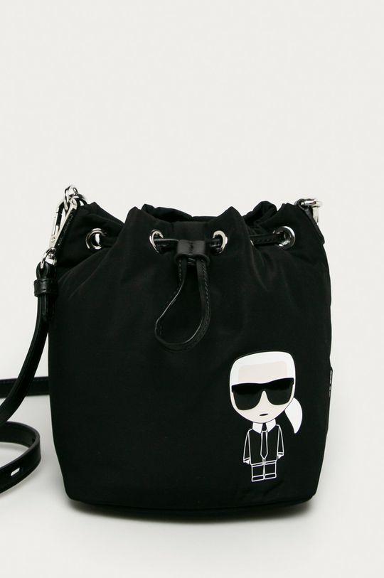 Karl Lagerfeld - Poseta  56% Poliamida, 44% Piele naturala