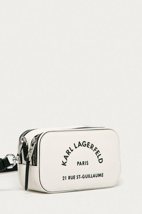 Karl Lagerfeld - Kožená kabelka  100% Prírodná koža