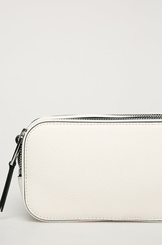 biela Karl Lagerfeld - Kožená kabelka