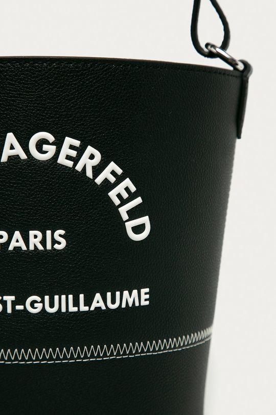 Karl Lagerfeld - Кожаная сумочка чёрный