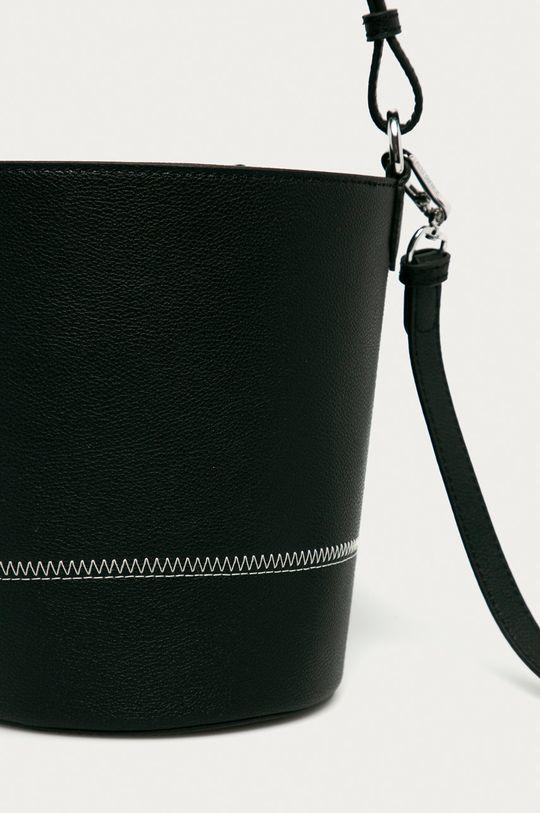 чёрный Karl Lagerfeld - Кожаная сумочка