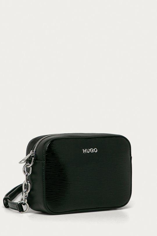 Hugo - Kožená kabelka černá