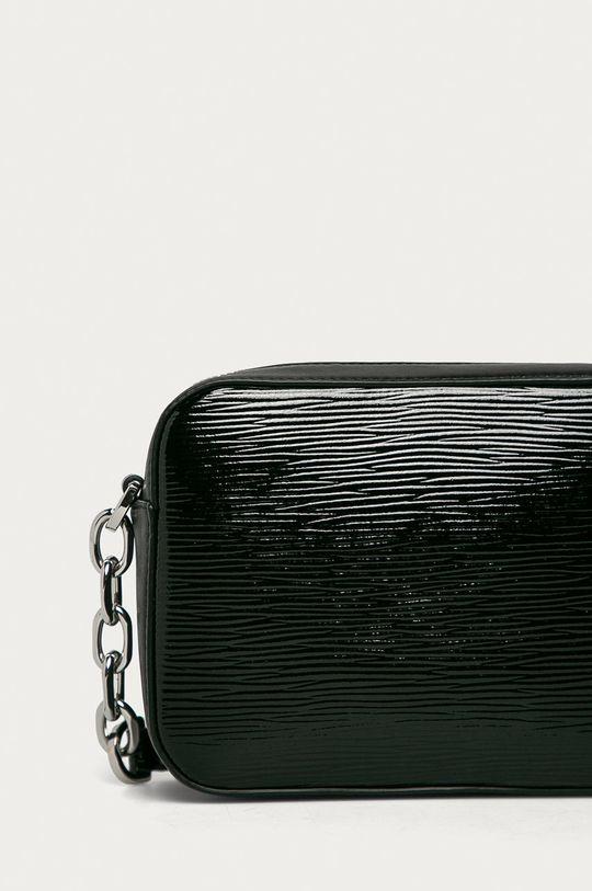 černá Hugo - Kožená kabelka