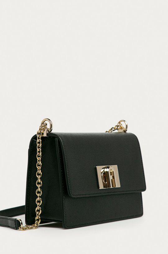 Furla - Kožená kabelka Bafkaco černá