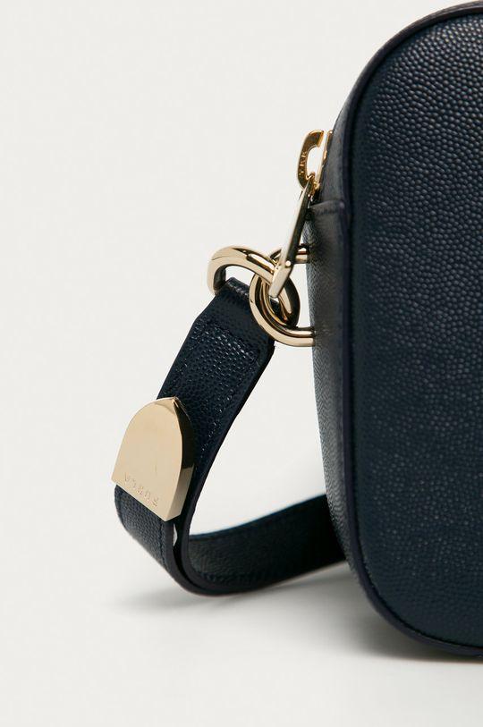 Furla - Poseta de piele Block Mini bleumarin