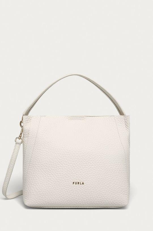 bílá Furla - Kožená kabelka Dámský