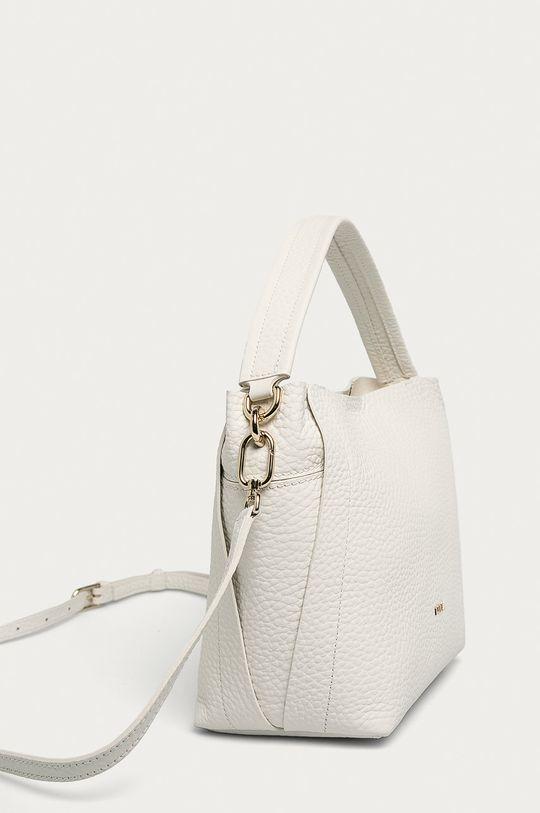 Furla - Kožená kabelka bílá