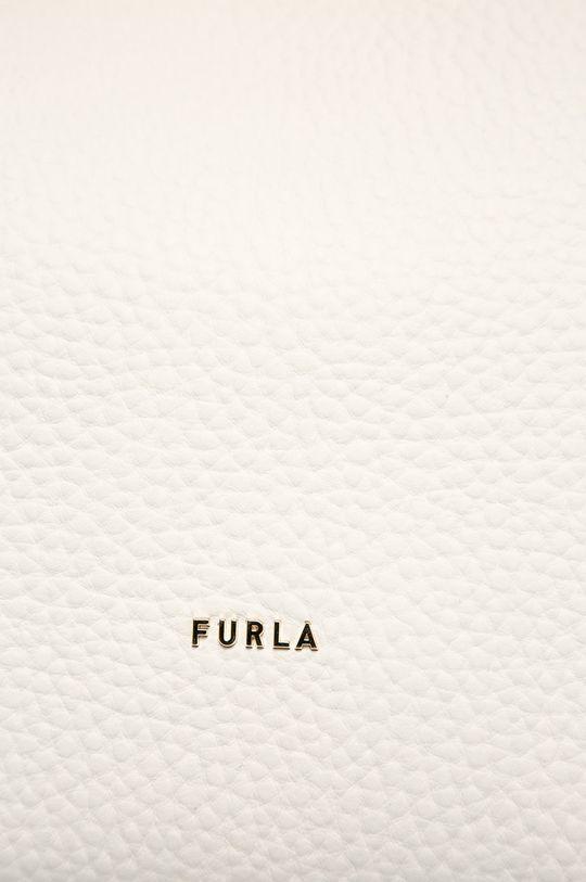 bílá Furla - Kožená kabelka
