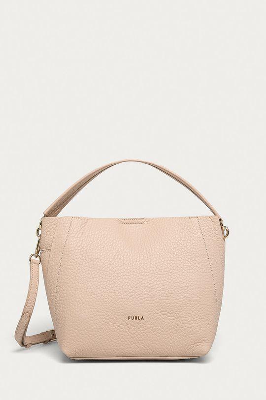 roz pastelat Furla - Poseta de piele Grace S De femei
