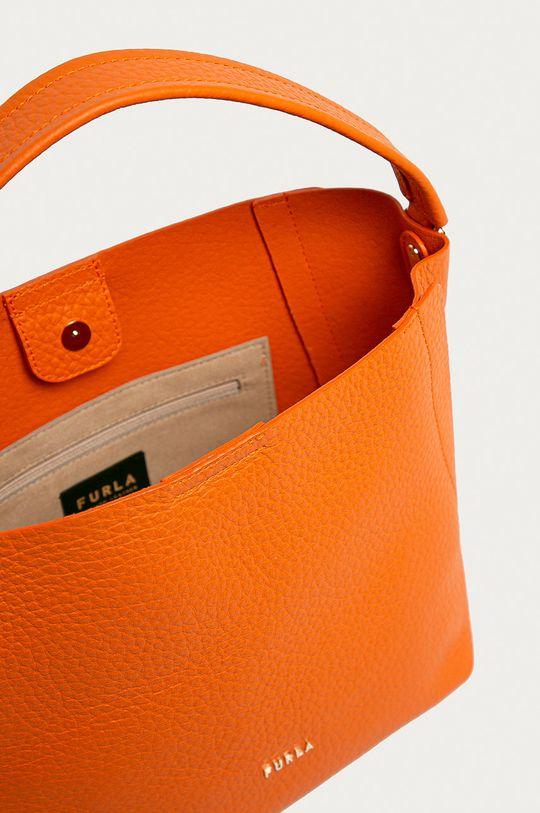 portocaliu Furla - Poseta de piele Grace