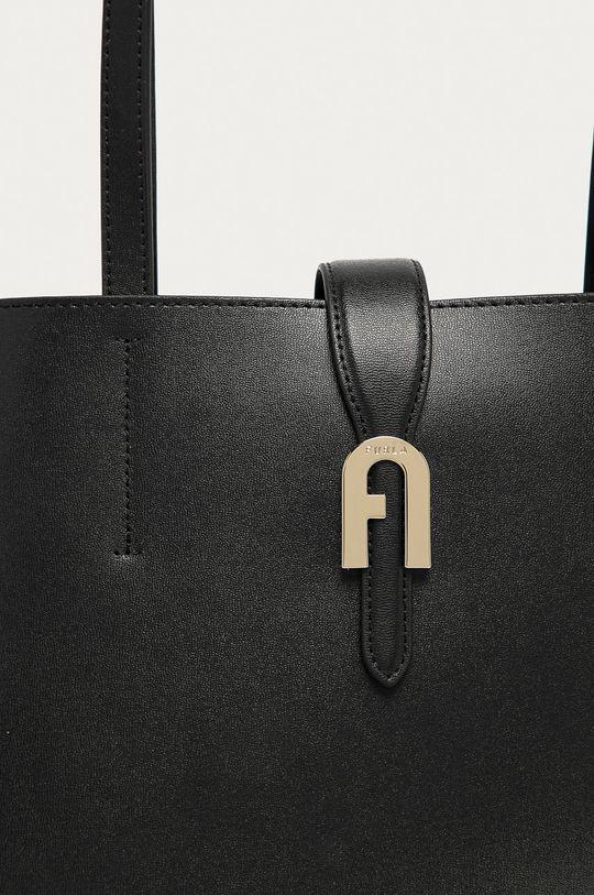 Furla - Kožená kabelka Sofia M černá