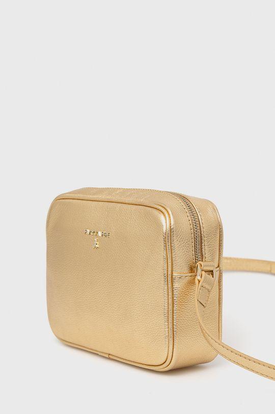 Patrizia Pepe - Kožená kabelka zlatá