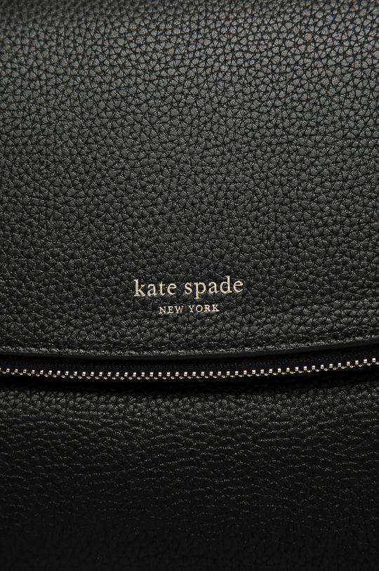 Kate Spade - Kožená kabelka čierna