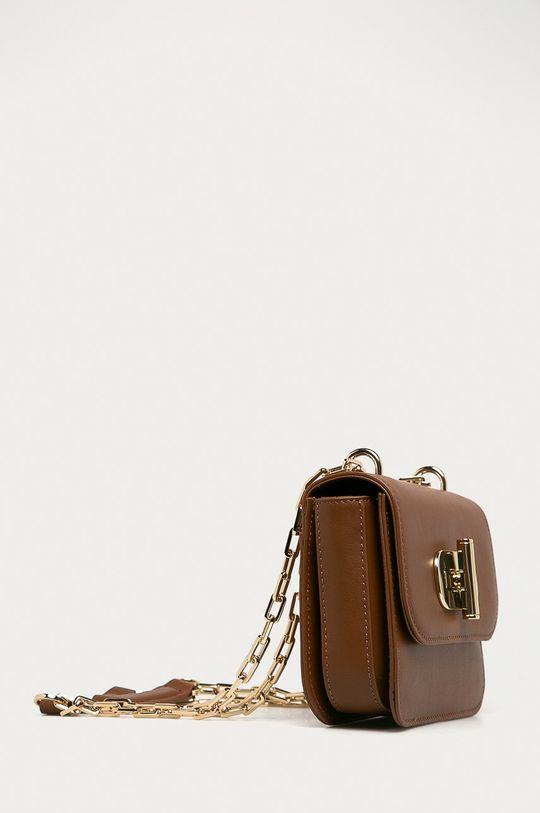 Tommy Hilfiger - Kožená kabelka  100% Prírodná koža