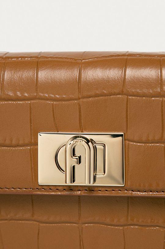 Furla - Kožená kabelka 1927 hnědá