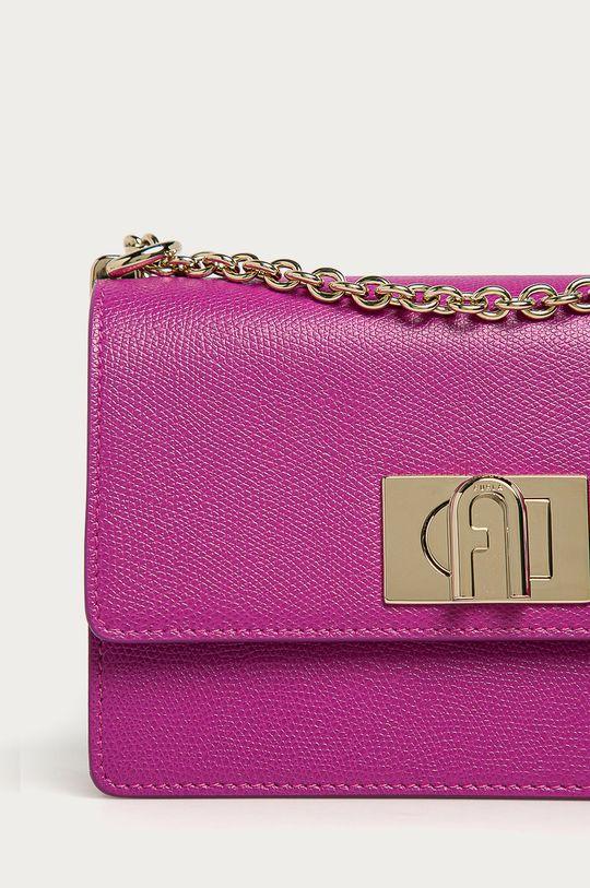 Furla - Kožená kabelka 1927 purpurová
