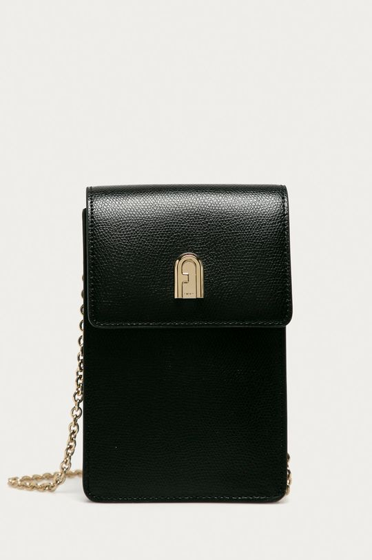 černá Furla - Kožená taška Dámský