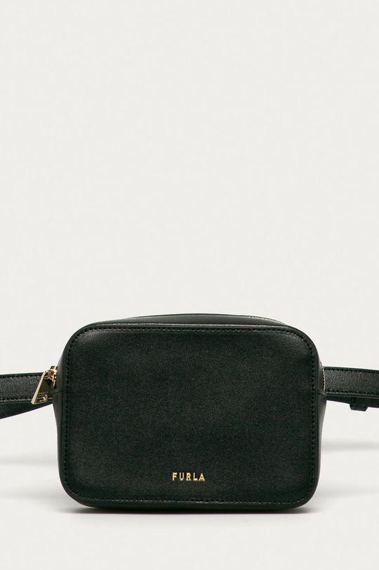 negru Furla - Borseta de piele Block De femei