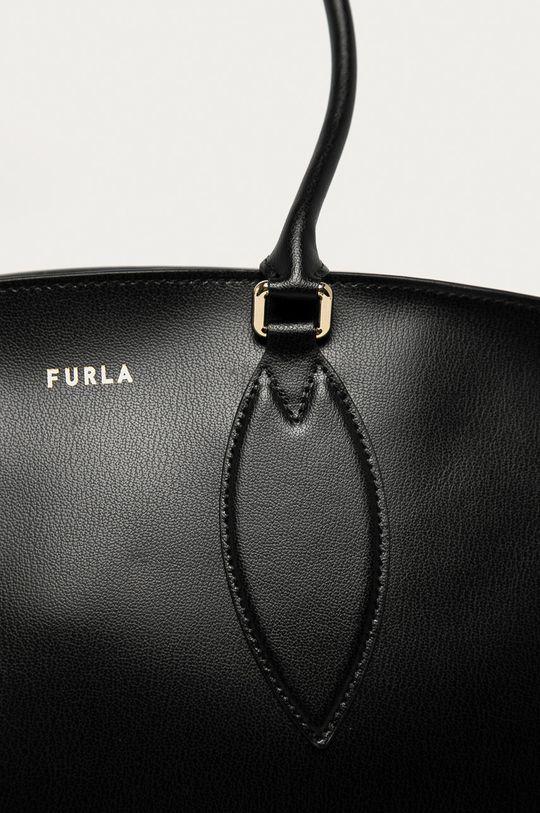 Furla - Kožená kabelka Doris černá