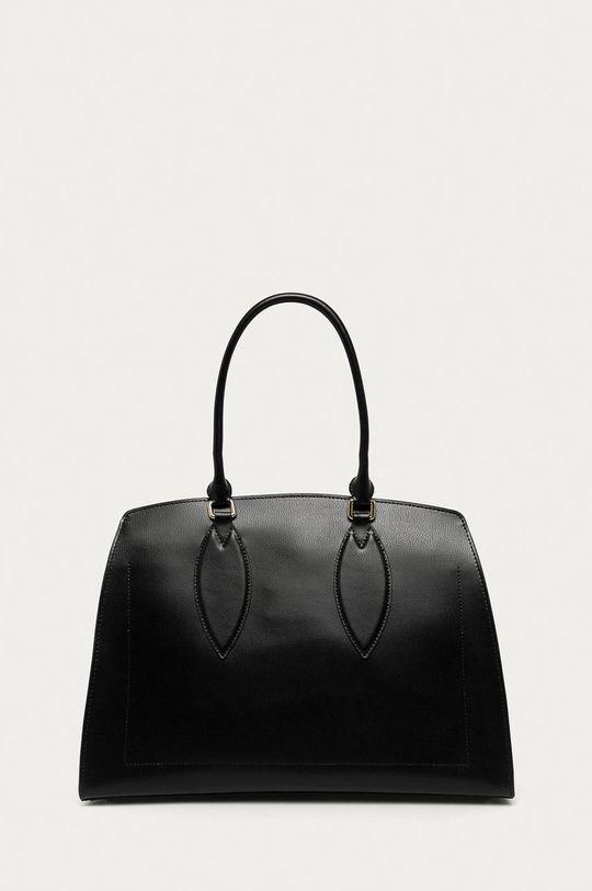 černá Furla - Kožená kabelka Doris