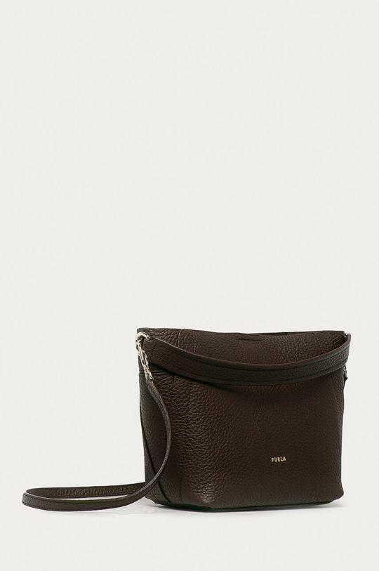Furla - Kožená kabelka Grace  100% Přírodní kůže